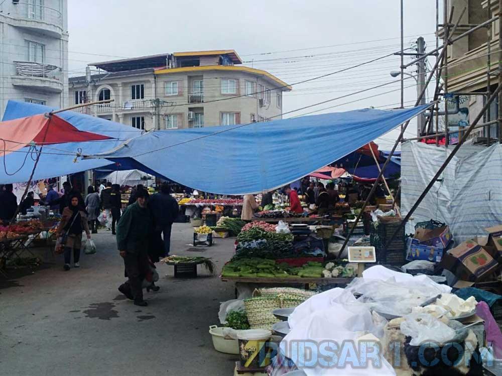 حال و هوای یکشنبه بازار رودسر