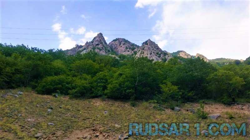 کوههای اطراف دهستان شوئیل