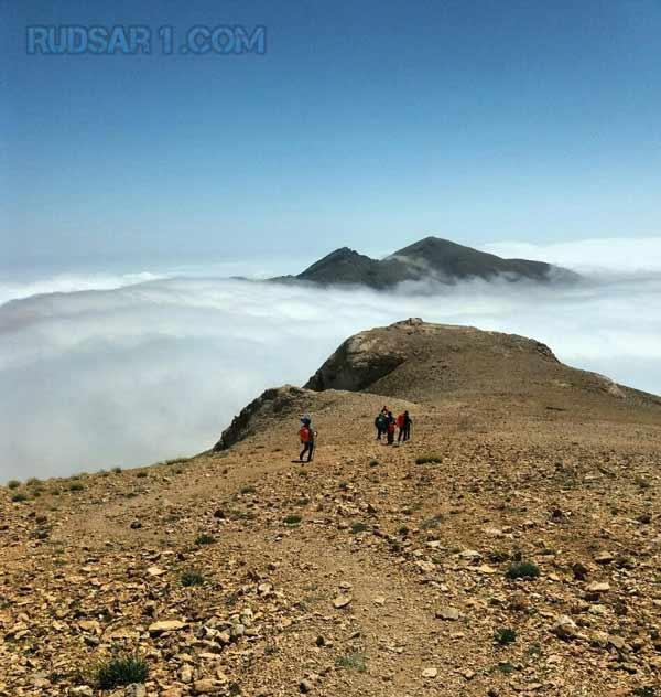 عکس از فراز قله سماموس