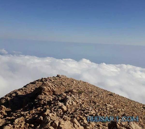 برفراز بلندترين قله استان گيلان